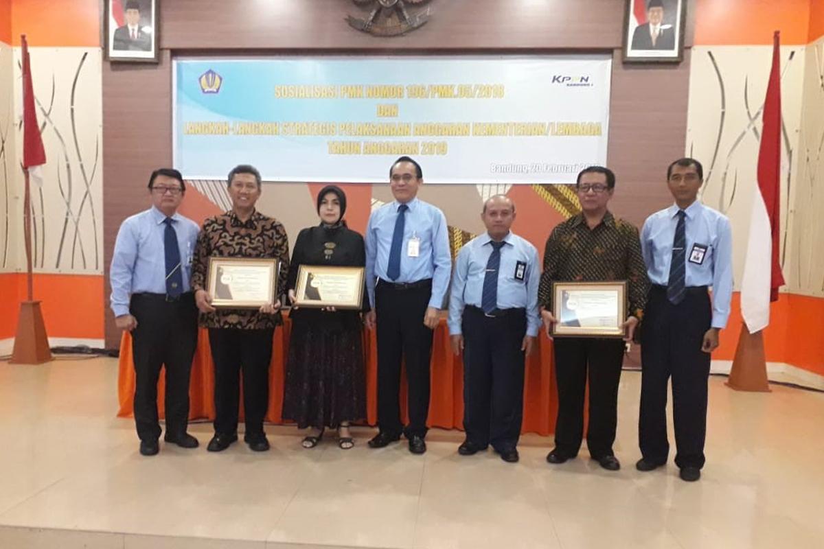 UPI Raih Penghargaan Peringkat Pertama dengan Capaian Indikator Kinerja Pelaksanaan Anggaran (IKPA) Terbaik
